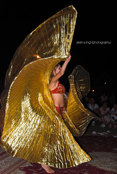 Picture of belly dancer