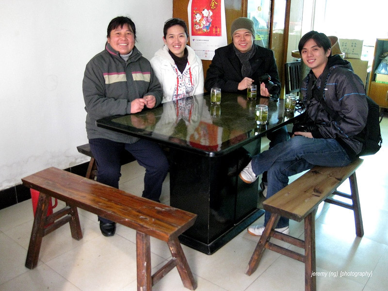 image of us in the dining room